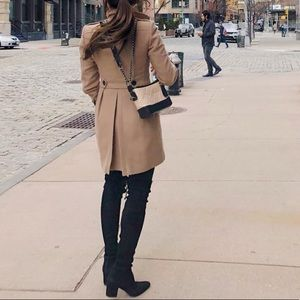 Burberry brown wool cashmere coat